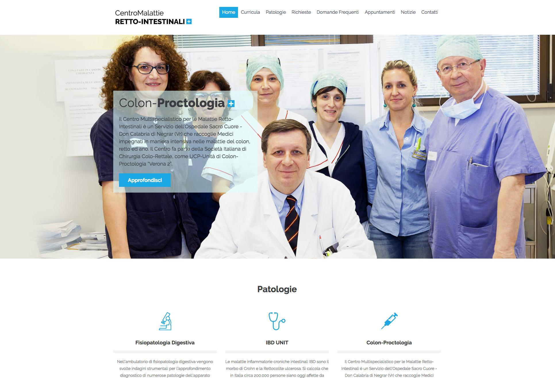 Centro per le malattie retto-intestinali Negrar