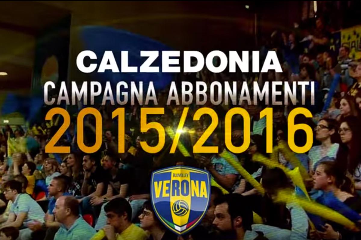 Campagna abbonamenti Calzedonia Verona 2015/2016 - Il grande volley passa da qui
