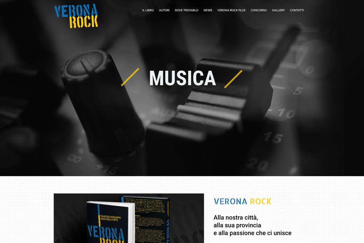 VERONA ROCK - IL LIBRO